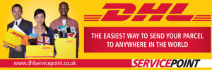 DHL Service point in Halifax UK