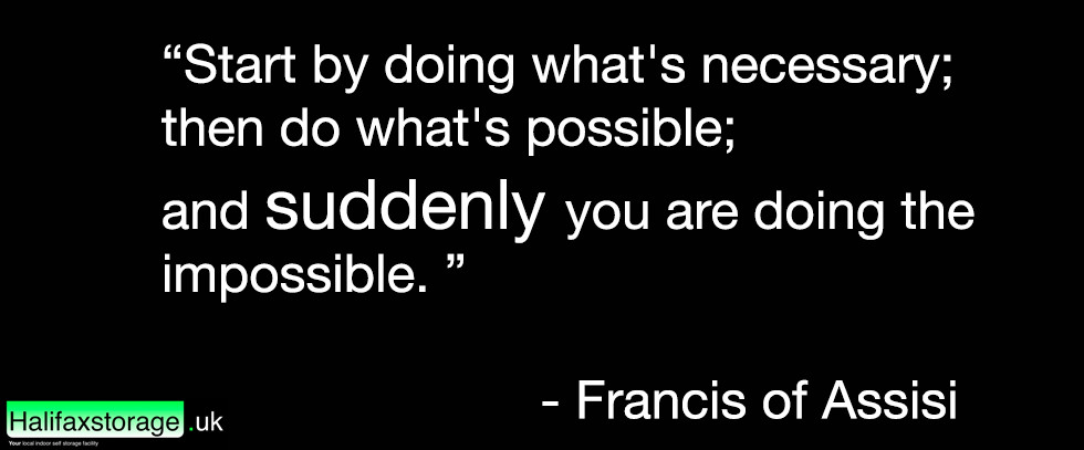 a quote by Francis of Assissi
